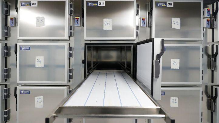La morgue de la Ciudad de la Justicia ha recogido casi 600 cadáveres