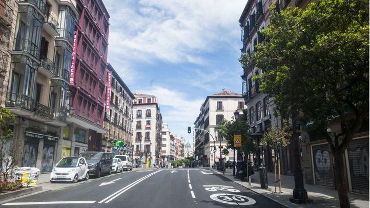 La calle Mayor, una de las vías que se peatonalizará de forma temporal.