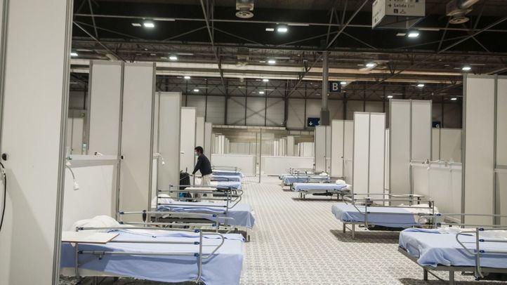 Pabellón 7 del hospital de emergencia de Ifema.