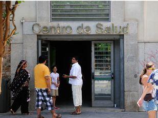 Un centro de Salud en Lavapiés.