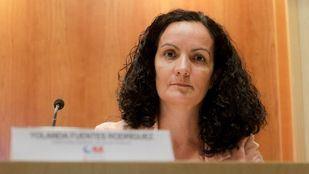 La exdirectora de Salud Pública, Yolanda Fuentes.