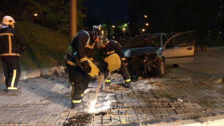 El conductor del vehículo fue trasladado leve al Puerta de Hierro