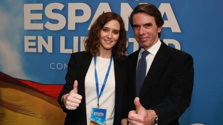 Ayuso participa en el Aula de Liderazgo de Aznar tras la crisis en el Gobierno regional
