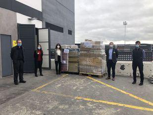 Mercadona dona 3.000 kilos de productos de primera necesidad a Cáritas de San Agustín del Guadalix y Galapagar