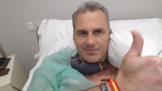 Ortega Smith, ingresado de urgencia por trombos derivados de la COVID-19