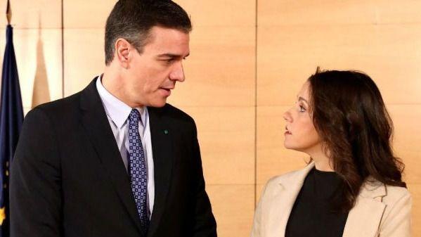 Continúa el buen clima Gobierno-Ciudadanos tras una conversación 'cordial' entre Sánchez y Arrimadas