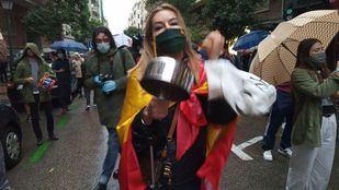 Primeras concentraciones de protesta en Madrid contra Sánchez
