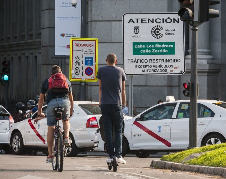 La moratoria de multas que aplicó Almeida a Madrid Central causó