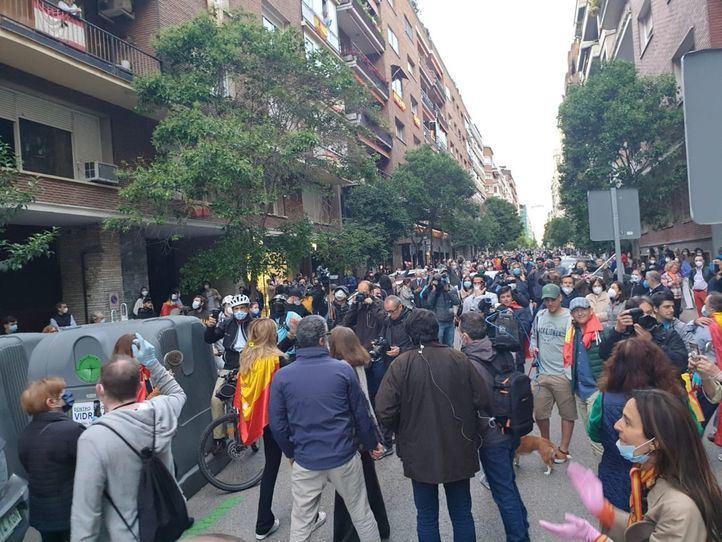 La Delegación de Gobierno desplegará un dispositivo en la calle Núñez de Balboa para hacer cumplir la Ley
