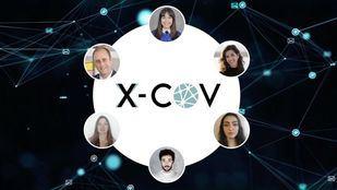 Creadores del proyecto X-COV, ganador del Hackathon CodeTheCurve organizado por la Unesco.