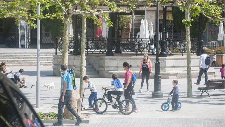 Las Rozas, uno de los municipios que ha flexibilizado las restricciones a las terrazas.