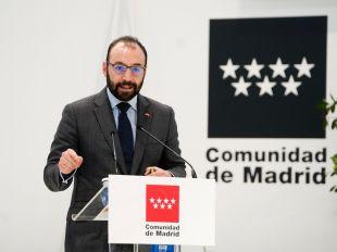 El consejero de Economía, Manuel Giménez.