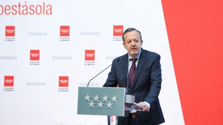 Alberto Reyero, consejero de Políticas Sociales, Familias, Igualdad y Natalidad de la Comunidad de Madrid
