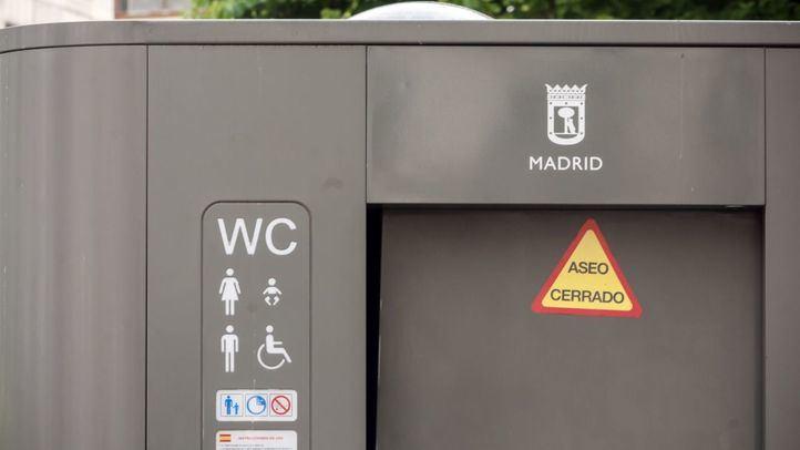 Urinarios públicos cerrados en Madrid