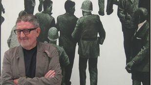 Muere el pintor Juan Genovés, autor del símbolo de la Transición 'El abrazo'