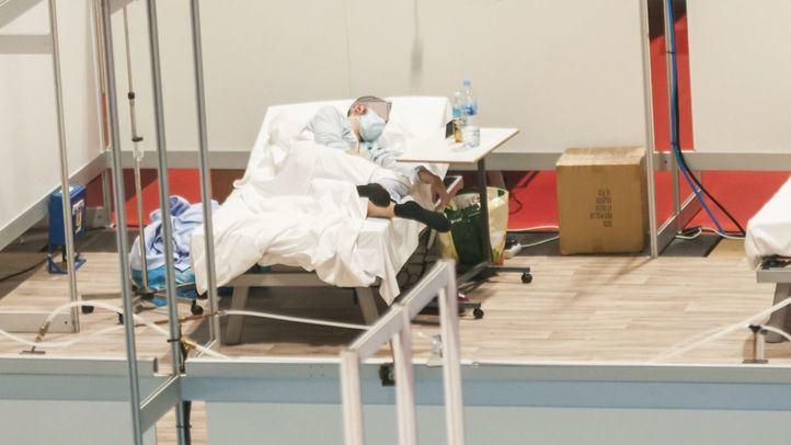 Paciente del ya clausurado Hospital de Ifema