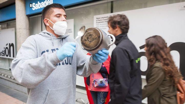 Protesta en Núñez de Balboa contra la gestión de la crisis