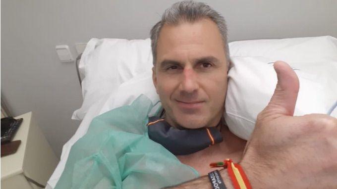 Javier Ortega Smith continúa hospitalizado, a la espera del alta
