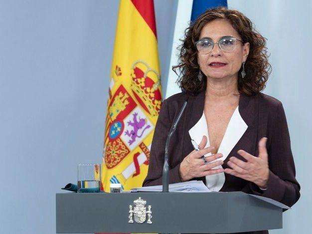 Mª Jesús Montero, ministra de Hacienda.