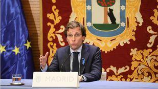 Almeida en una rueda de prensa posterior a la Junta de Gobierno.