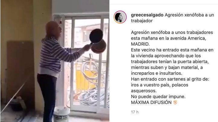 Denuncian una agresión racista en la obra de una vivienda en Avenida de América