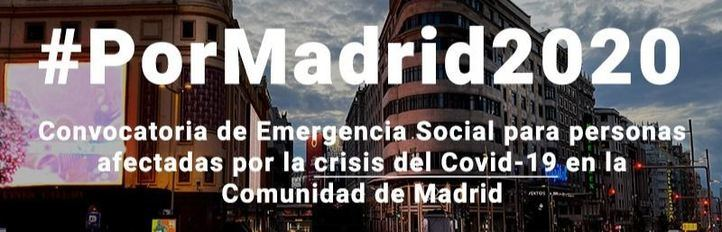 Fundación Montemadrid, Universidad Alfonso X el Sabio y Cámara de Comercio presentan #PorMadrid2020