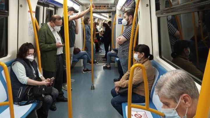 La demanda de transporte público creció ayer un 12,3% en relación a la semana pasada