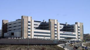 Hospital del Sureste, en Arganda del Rey.