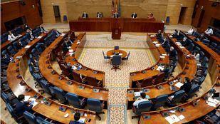 Pleno Asamblea de Madrid.
