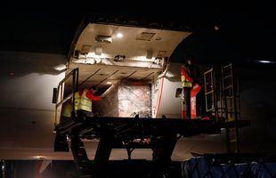 La Comunidad de Madrid recibe su decimotercer avión cargado con material sanitario