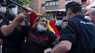 Detenida en una cacerolada la líder de Hogar Social Madrid