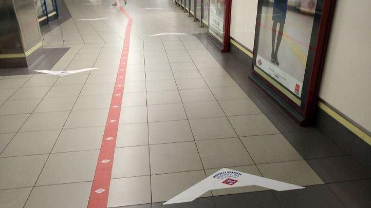 Metro se blinda con diferentes medidas para entrar con seguridad en la fase 1