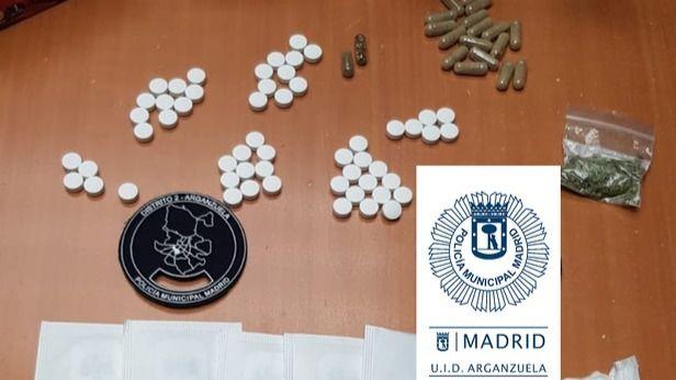 Detenido por utilizar una empresa de reparto para recibir drogas