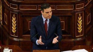 Pedro Sánchez en el Congreso, para la quinta prórroga del estado de alarma