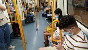 Metro de Madrid, en el primer día de fase 1