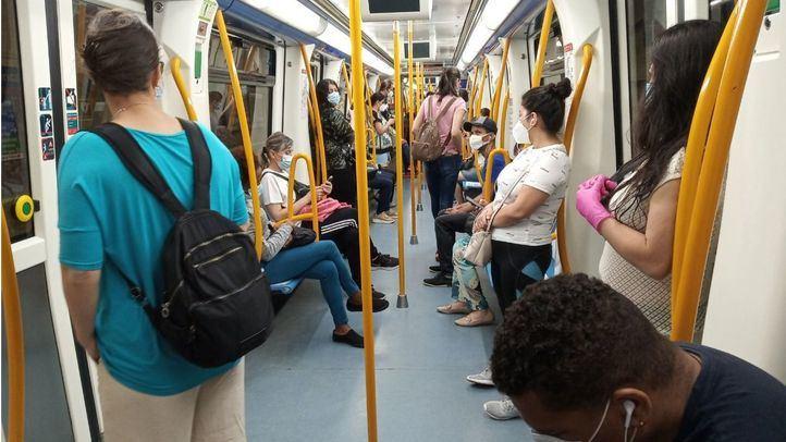 'Normalidad' en el primer día de fase 1 en Metro de Madrid