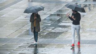 Alerta amarilla por tormentas y fuertes lluvias en la Comunidad