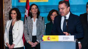 José Manuel Franco en su toma de posesión como delegado del Gobierno en Madrid