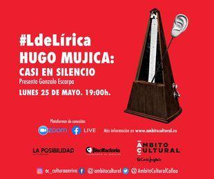 #LdeLírica de Ámbito Cultural de El Corte Inglés rinde homenaje al poeta argentino Hugo Mujica