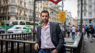 Alberto Oliver, diputado de Más Madrid en la Asamblea.