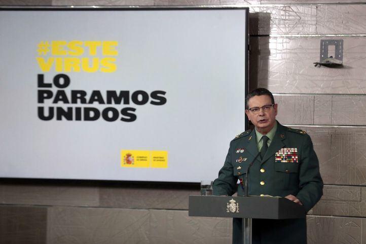 El teniente general Laurentino Ceña.