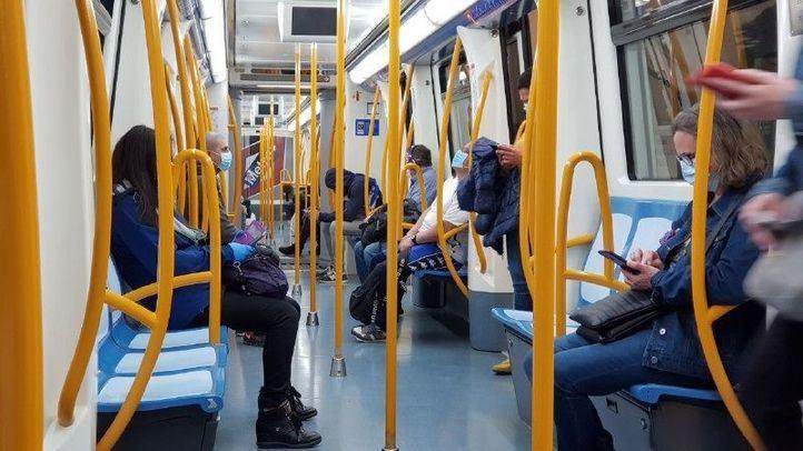 El transporte público superó 1,2 millones de viajeros este lunes