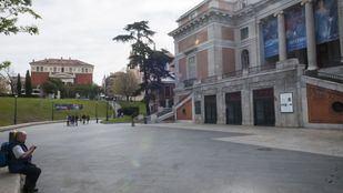 El Museo del Prado, cerrado por la pandemia del coronavirus.