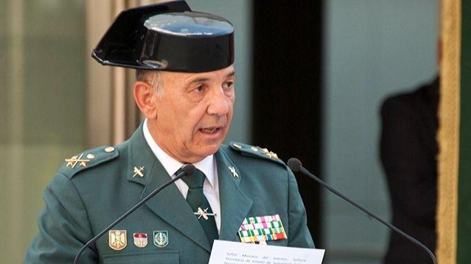 El 'número tres' de la Guardia Civil deja el cargo tras el cese de De los Cobos