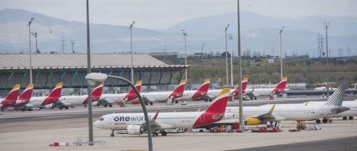 Iberia retomará parte de su programa de vuelos en julio