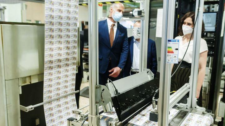 La ONCE comienza a imprimir los primeros cupones tras el confinamiento