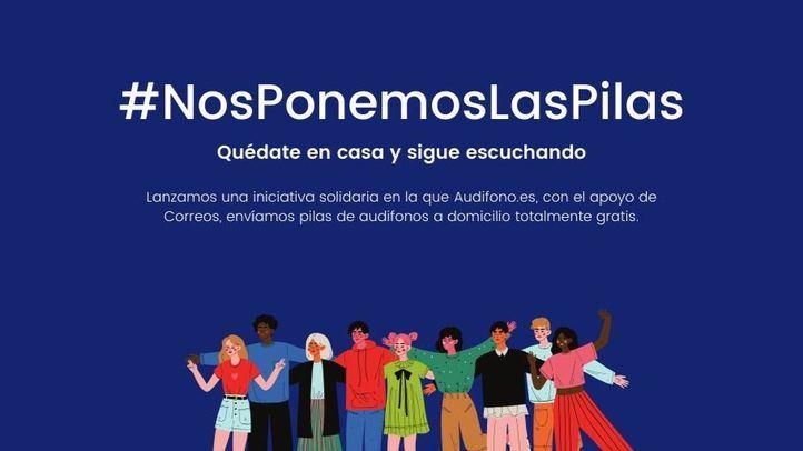 Un millar de madrileños han recibido pilas gratis para sus audífonos en el confinamiento