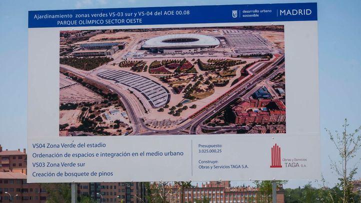 Cibeles aprueba la 'Ciudad del Deporte' de San Blas