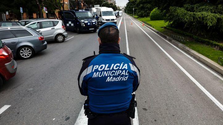 Un agente de la Policía Municipal de Madrid.
