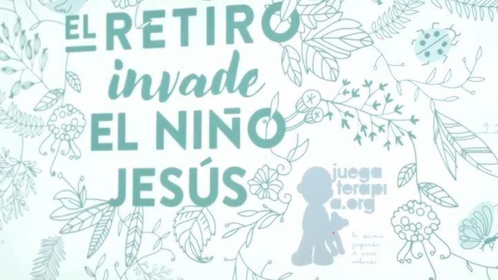 'El Retiro invade el Niño Jesús', proyecto de la Fundación Juegaterapia para remodelar los pasillos del hospital